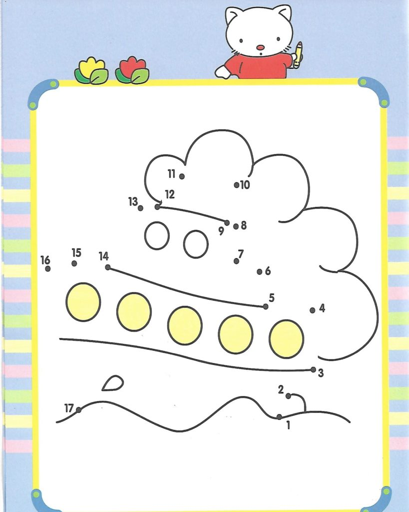 ship printable dot to dot – connect the dots numbers 1-20